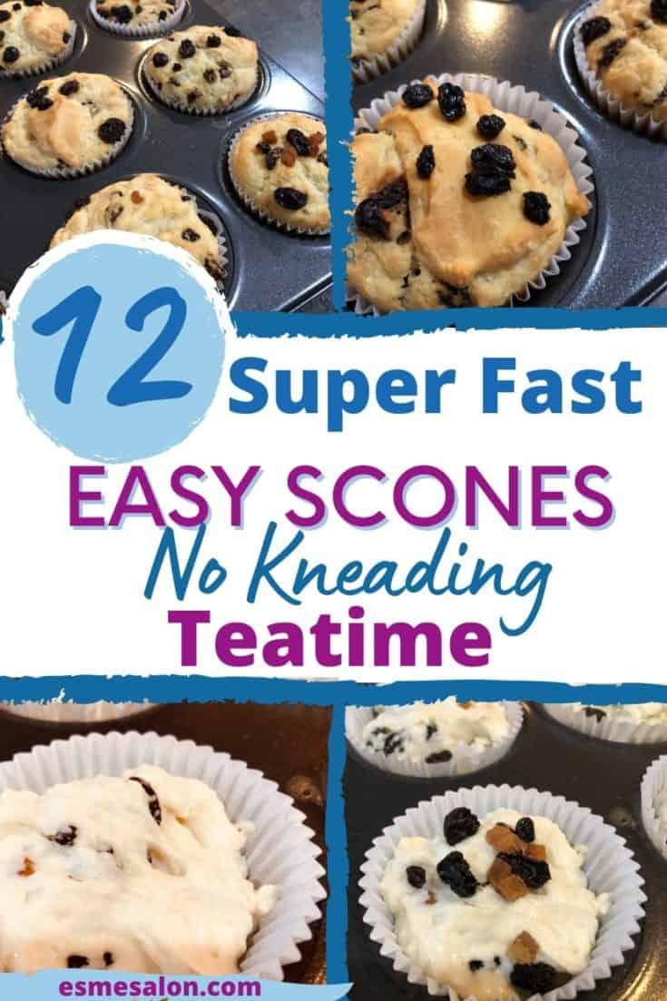 Homemade 12 Super Fast, Easy Delicious Teatime Scones