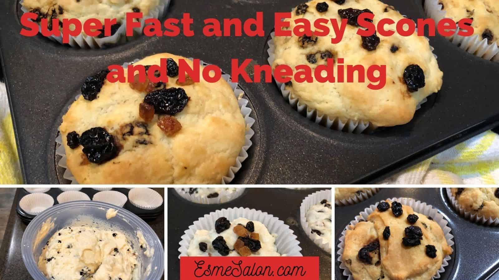Teatime Easy Fruit Scones