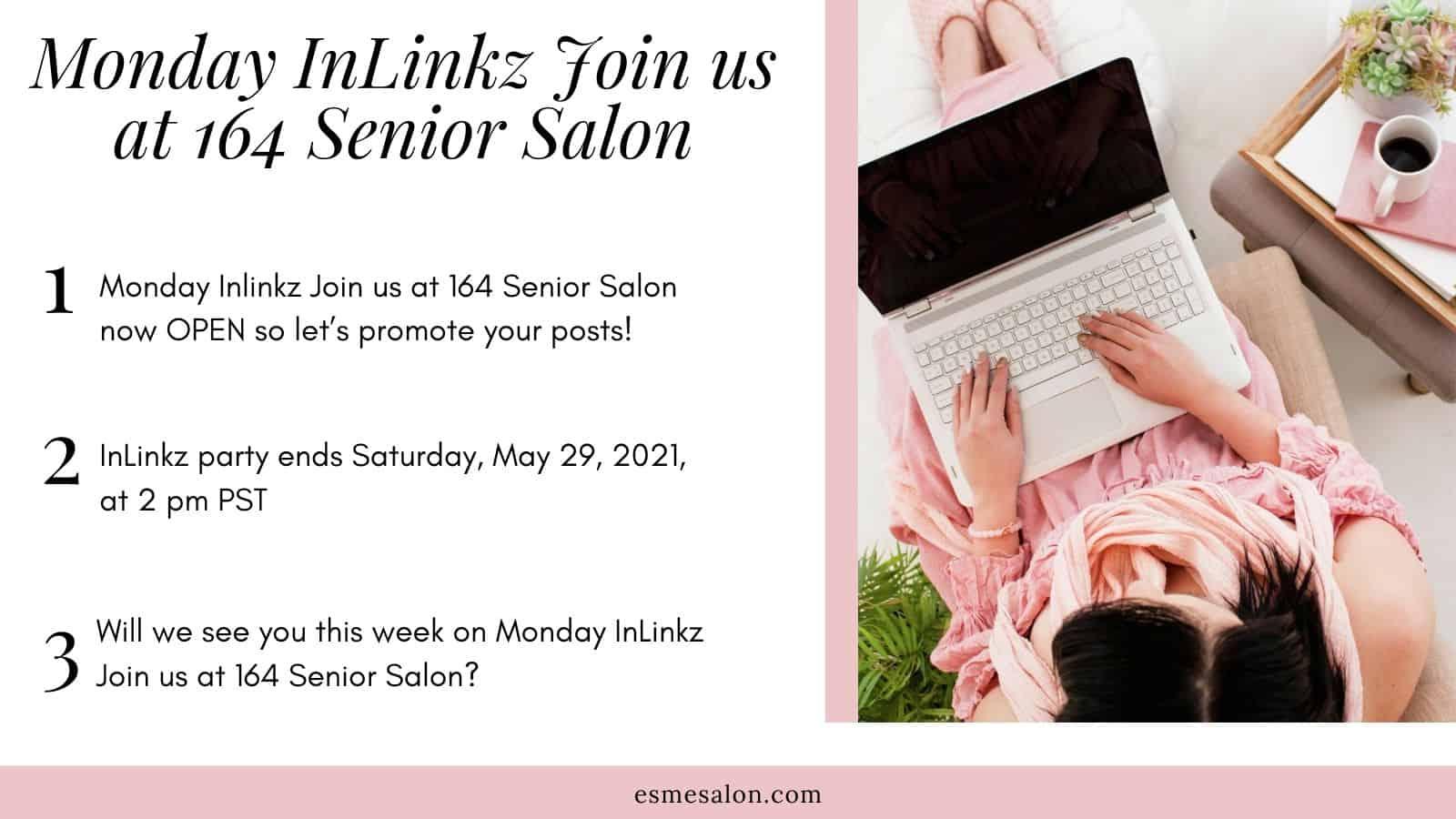 Monday InLinkz Join us at 164 Senior Salon