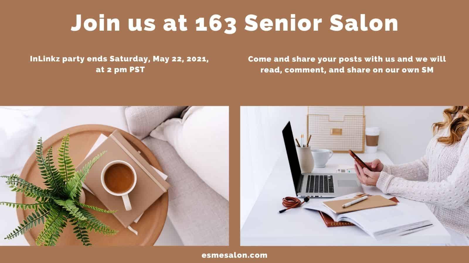 Join us at 163 Senior Salon