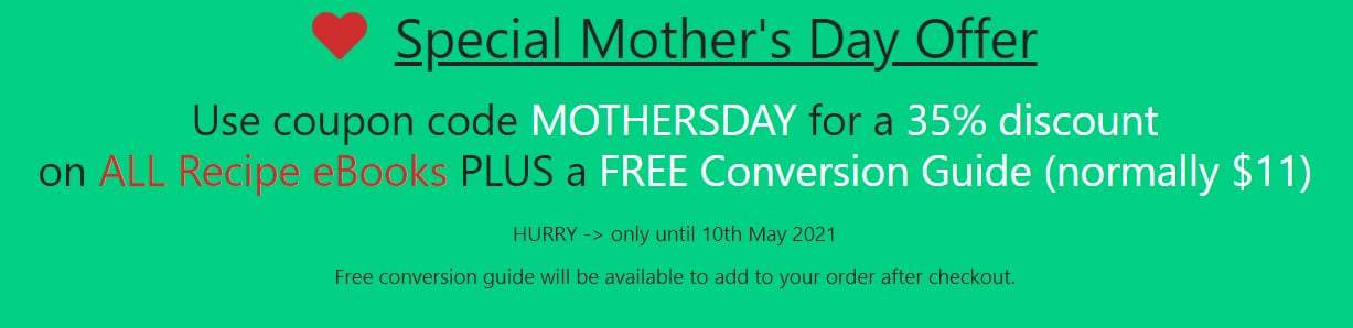Mother's Day Special Green Banner