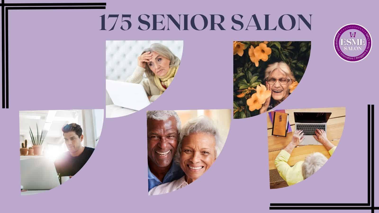5 sets of seniors at work