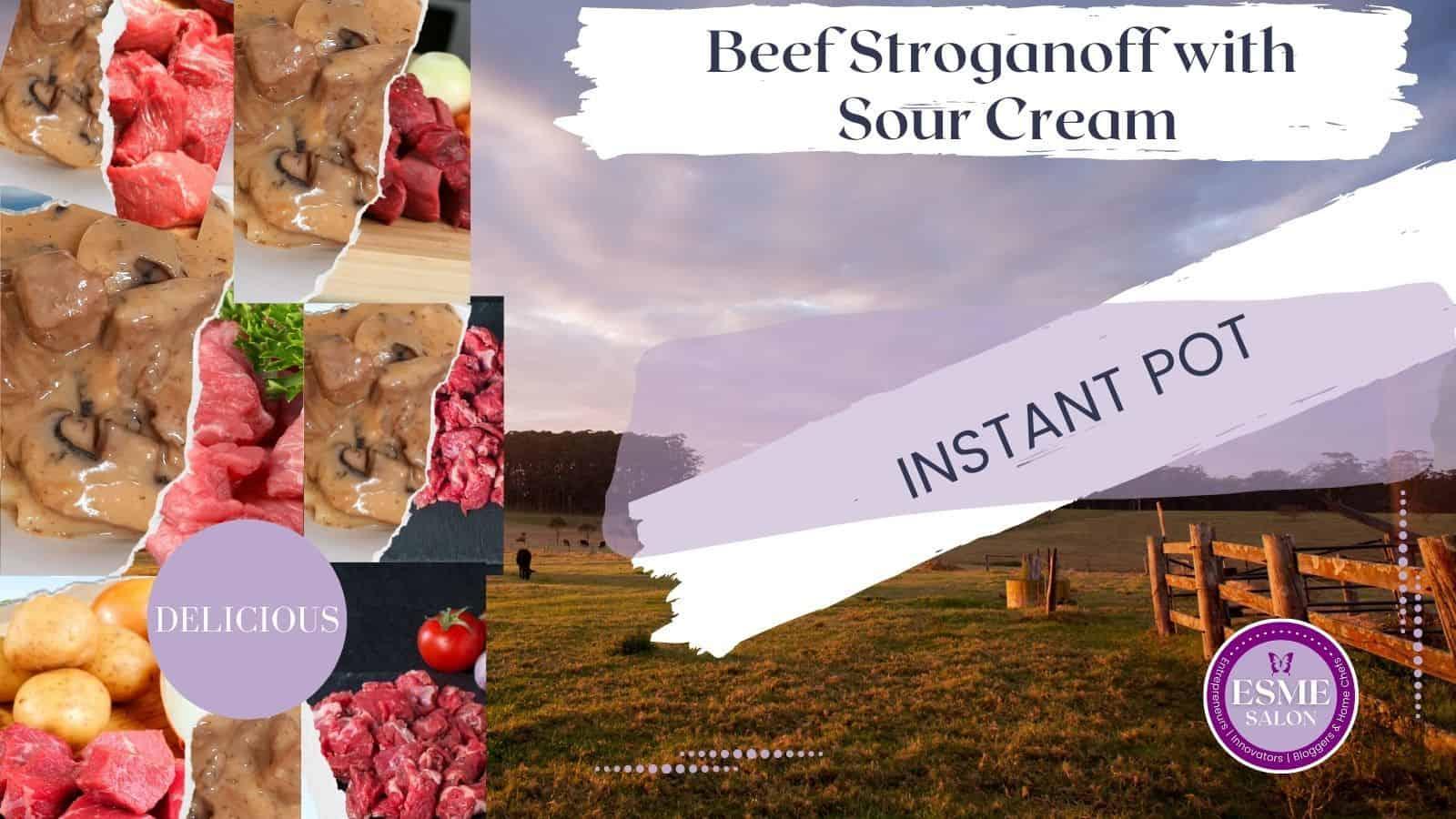 Beef Stroganoff with Sour Cream