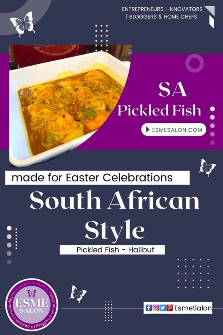 South African Style Pickled Fish