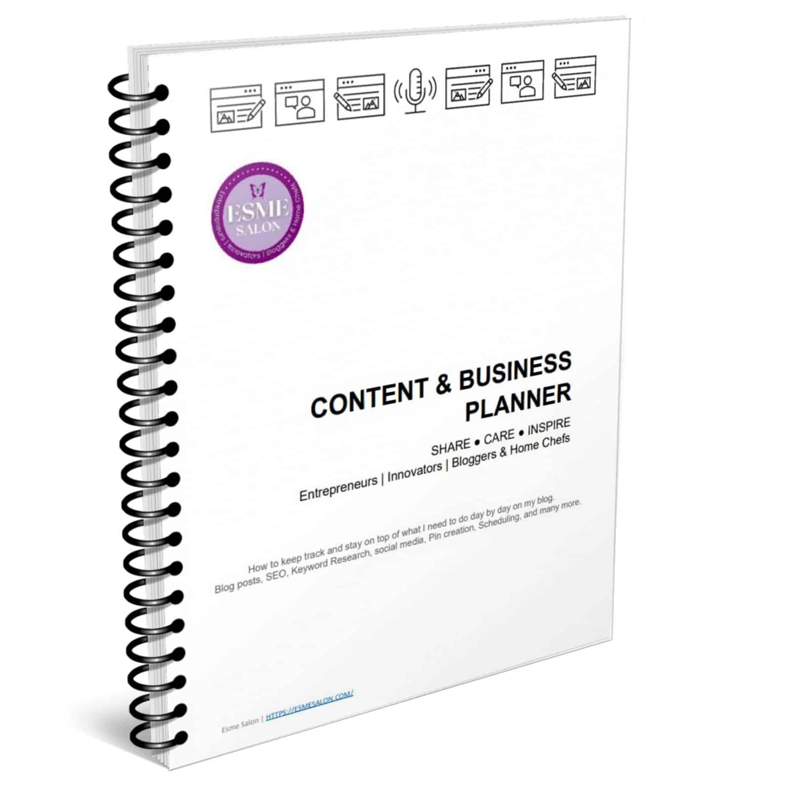 Content & Business Planner