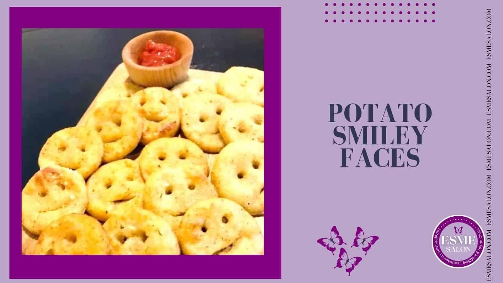 Potato Smiley Face